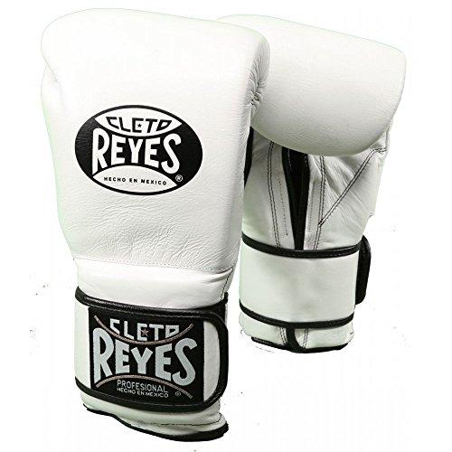 Cleto Reyes Velcro Sparring Gloves - White