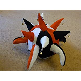 Histon Jester Hat for Fancy Dress Red Black and White:Greatestmixtapes