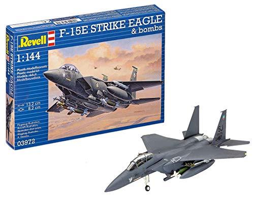 ドイツレベル 1/144 F-15E ストライクイーグル 爆弾付 プラモデル