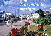 Travemuende maritim (Wandkalender 2022 DIN A4 quer): Attraktives Seebad Travemuende an der Ostsee (Monatskalender, 14 Seiten )