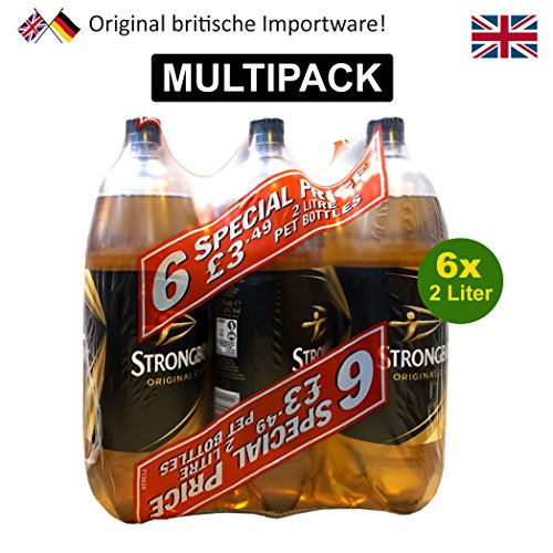 Strongbow Cider 6 x 2L Flasche