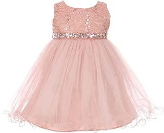 Best baby girl blush dress Reviews