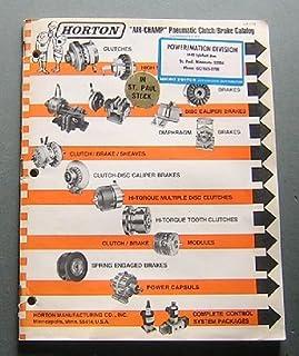 Horton Air Champ Pneumatic Clutch - Brake Catalog