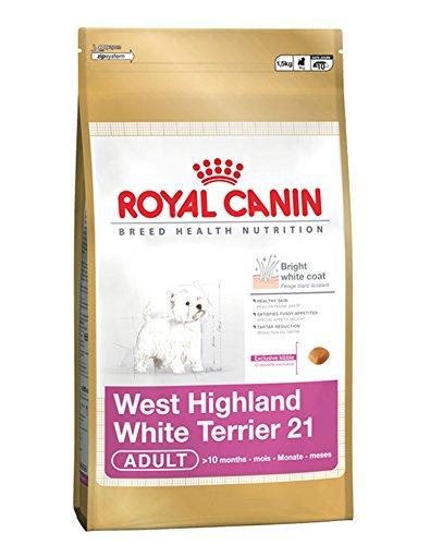 Royal Canin Westie 21 Hundefutter für ausgewachsene Hunde, 3 kg