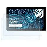 Bruni Schutzfolie kompatibel mit Blaupunkt Discovery 1001 Folie, glasklare Bildschirmschutzfolie (2X)