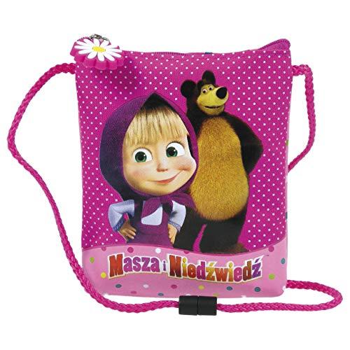 Masha und der Bär Umhängetasche, Beutel, Tasche, klein