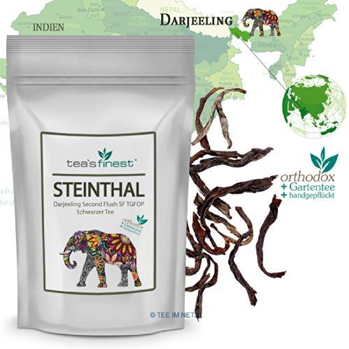 Schwarzer Tee Darjeeling Steinthal SF TGFOP1 Second Flush - 100 Gramm
