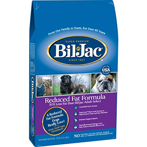 Bil-Jac Reduced Fat Dry Food For Dogs