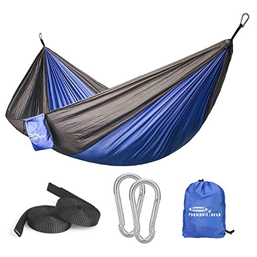 Forbidden Road Single & Double Camping Portable Parachute Hammock Now $11.99 (Was $19.99 )