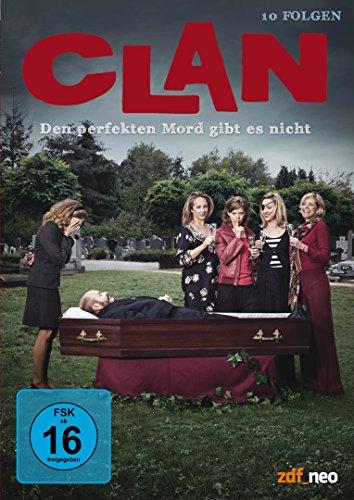 Clan - Den perfekten Mord gibt es nicht (10 Folgen) [4 DVDs]