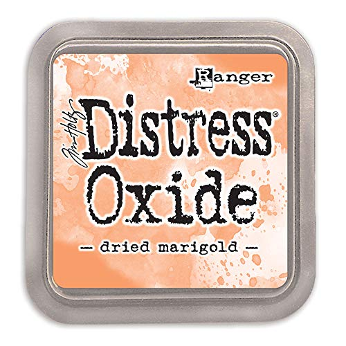 Ranger Tim Holtz Distress Oxide Festive Berries-a 2x2 Raised Pad, with Water-Reactive Dye Ink Tinta, Rosa, 7,6 x 7,6 cm