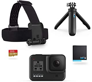 GoPro HERO8 Black Holiday Bundle - Cámara HERO8 Black + Cor