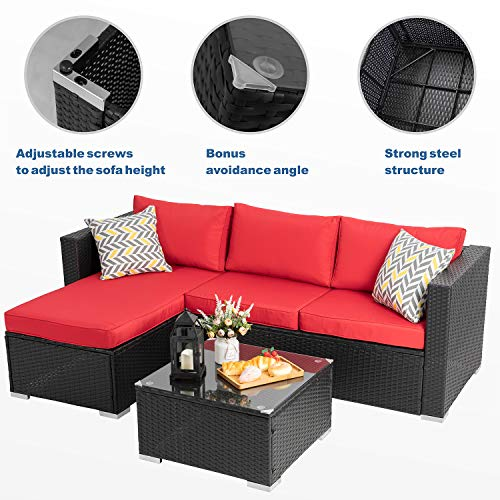 Walsunny Outdoor Patio Furniture Sets