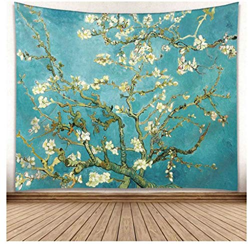 Icole Van Gogh - Tapiz de pared, tapiz de pared, para colgar en la pared con impresión muy detallada (longitud x altura)