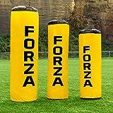 FORZA Sac de Plaquage PVC pour Rugby/Football Américain - Sac de Percussions pour Entraînements (Variété de Tailles) (Petit, Junior)