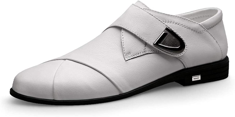 Men's Formal shoes Fashion Oxford Casual Comfortable Simple Convenient Hook&Loop shoes Cricket shoes