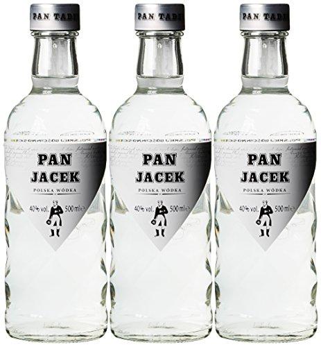 Wyborowa Polnischer Exclusiv Pan Tadeusz Wodka (3 x 0.5 l)