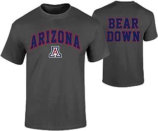 Elite Fan Shop NCAA Men's T Shirt Dark Heather Back