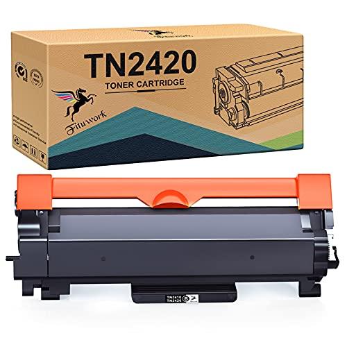 FITU WORK TN2420 TN2410 Cartuccia Toner Compatibile per Brother MFC-L2710DW MFC-L2710DN HL-L2350DW MFC-L2730DW MFC-L2750DW DCP-L2510D DCP-L2530DW DCP-L2550DN HL-L2310D HL-L2370DN HL-L2375DW (1 Nero)