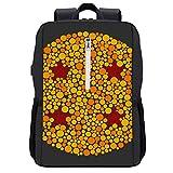 Ball Blind Test Dragon Ball Z Mochila Daypack Bookbag portátil escolar con puerto de carga USB