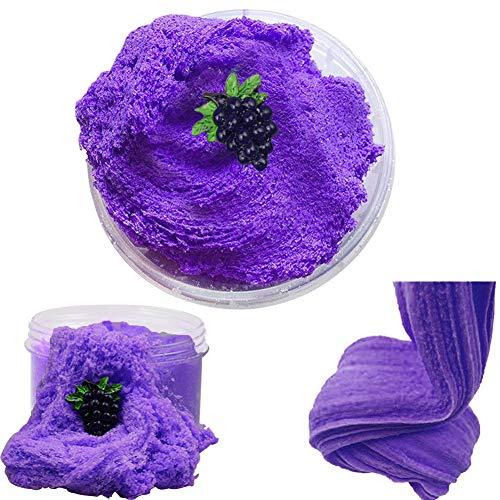 Fluffy Grape Cloud Slime 2018 El más Nuevo 200 ML Fairy Putty Stress Relief Toy Perfumado Sludge Toy Niños Adultos