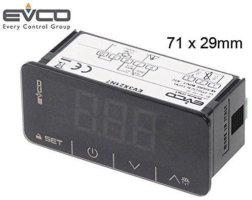 EVERY NTROL EV3X21N7 CO - Regolatore elettronico per NTC/PTC, 71 x 29 mm, 230 V, AC Touch