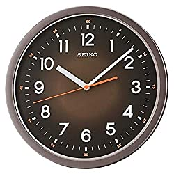 Seiko 12 Ultra-Modern with Quiet Sweep Wall Clock