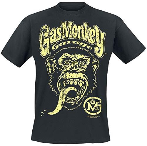 Gas Monkey Garage Logo Männer T-Shirt schwarz M