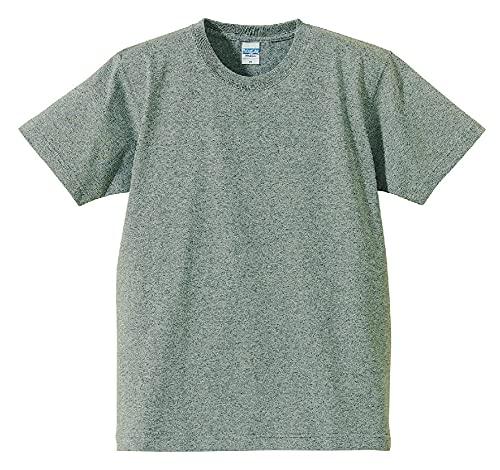 (ユナイテッドアスレ)UnitedAthle 7.1オンス へヴィーウェイト Tシャツ(オープンエンドヤーン) 425201 [メンズ] 006 ミックスグレー XS