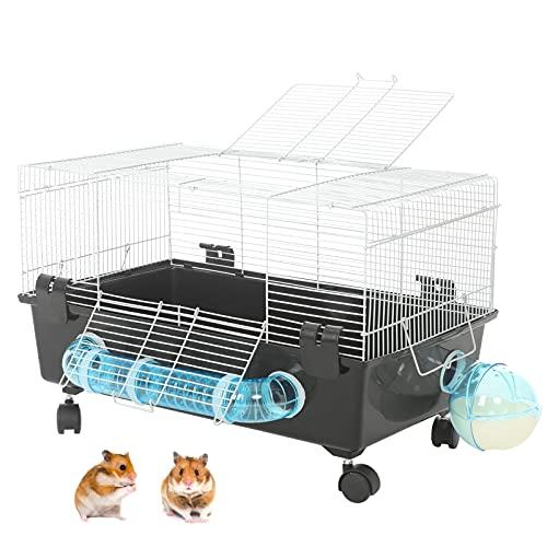 AOCZZ Cage Hamster Grande 60x36x38cm, Cage à Rats...