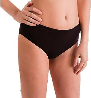 Liabel Set 3 Paia Slip Donna Microfibra Vita Bassa Bianco Nero Art.3001