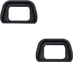 2 Pack JJC Soft Eyecup Eyepiece Eye Cup Viewfinder for Sony Alpha A6300 A6000 NEX-6 NEX-7 Cameras and FDA-EV2S Electronic Viewfinder,Replaces Sony FDA-EP10 Eyecup Eyepiece