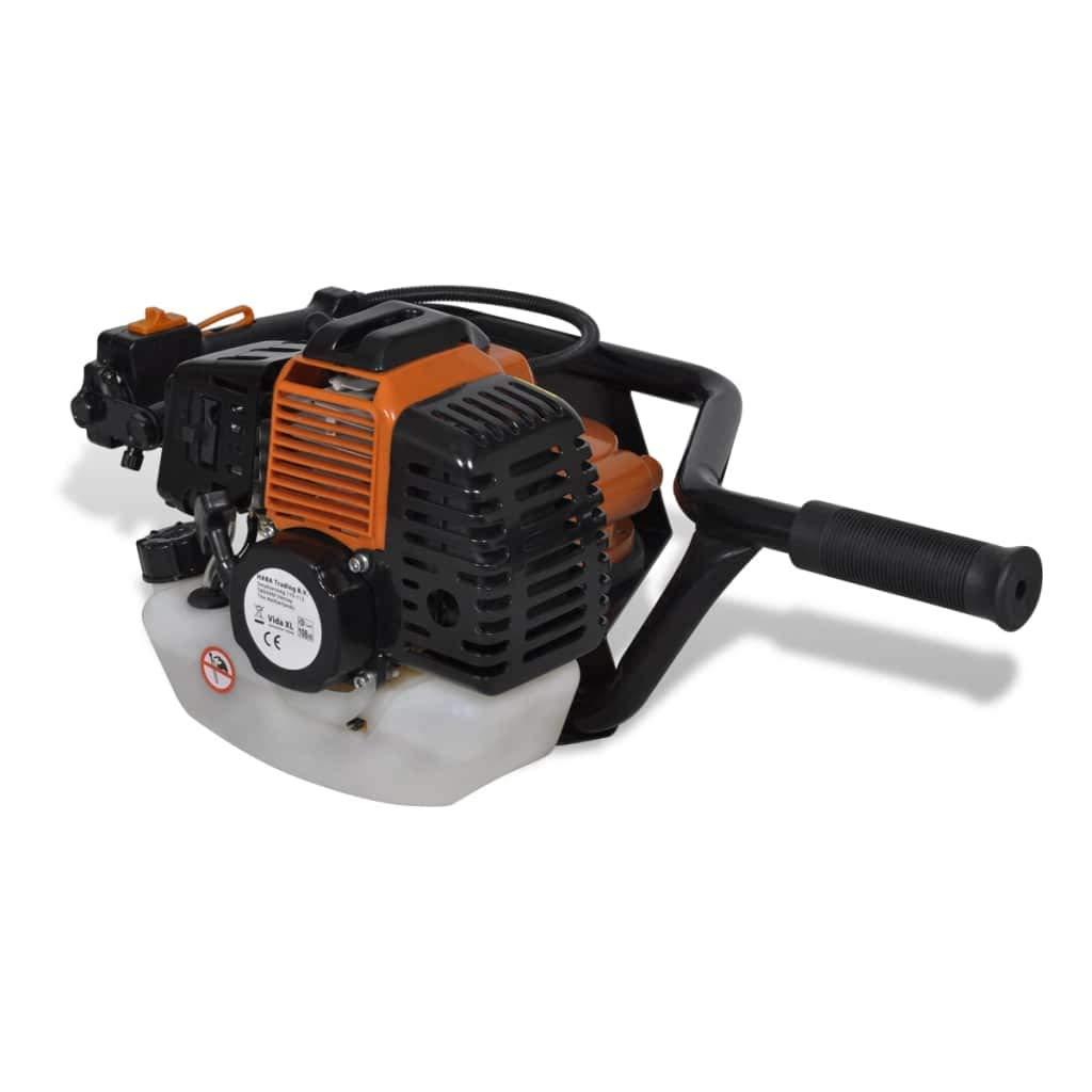 Ahoyador plantador de gasolina 3 piezas incluidas Color orange ...