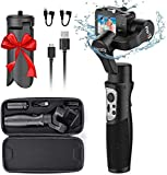 Hohem GoPro 3, stabilizzatore Gimbal per GoPro Hero 8/7/6/5/4/3 DJI OSMO Action Insta360 One R Sony RX0 YI Cam GoPro Control