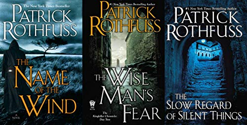 3 Book Set of The Kingkiller Chronicle Series (The Name of the Wind, Wise Man