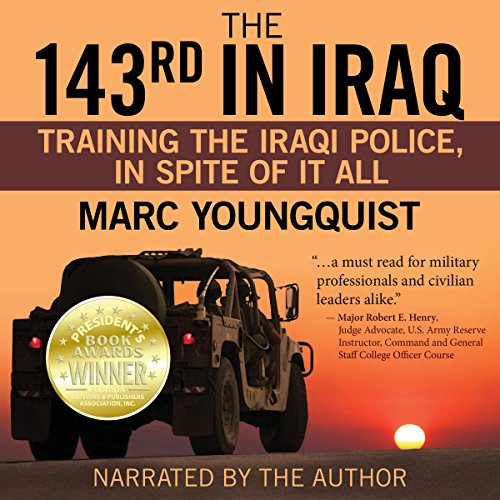 The 143rd in Iraq audiobook cover art