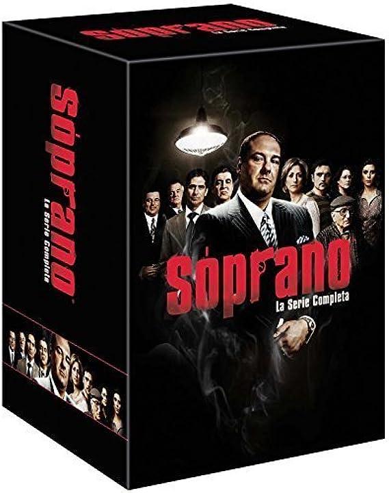Soprano - la serie completa - cofanetto (28 dvd) - edizione italiana B018GK43LM