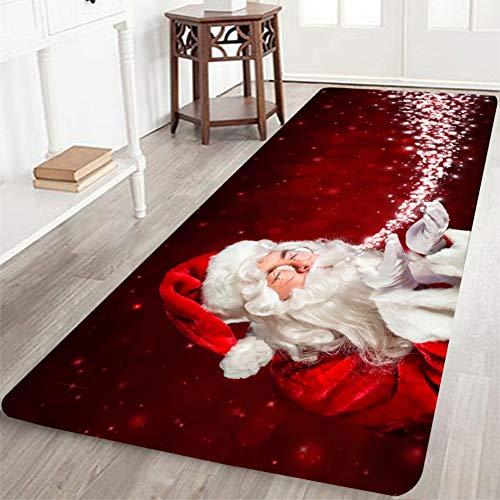 Wingbind Teppich Anti Rutsch Unterlage Teppich Wohnzimmer Kurzflor Fußmatte Innenbereich Lustig Waschbar Weihnachten