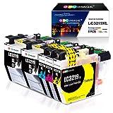 GPC Image LC3219XL LC3219 Cartouches d'encre compatibles pour Brother LC3219XL pour imprimante Brother MFC- J5330DW J5335DW...