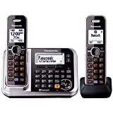 Panasonic KX-TG7892AZS DECT Digital Cordless Phone with Link-to-Cell System, Key Finder and 2