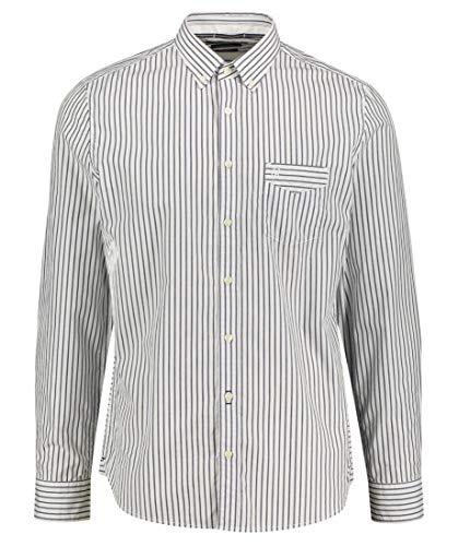 Preisvergleich Produktbild Marc O'Polo Herren Hemd Shaped Fit Langarm blau (51) L