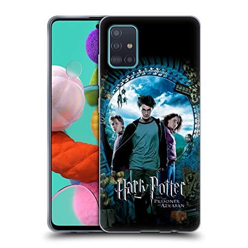 Offizielle Harry Potter Ron, Harry & Hermione Poster Prisoner of Azkaban IV Soft Gel Huelle kompatibel mit Samsung Galaxy A51 (2019)