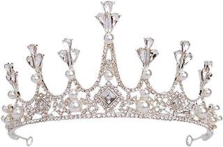 RKY Parte superiore delle ragazze, bambini diadema della parte superiore della principessa Crown Tornante Accessori for ca...