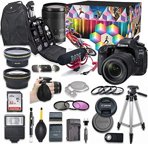 Canon EOS 80D DSLR Camera Video Cre…