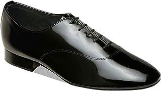 Supadance - heren standaard dansschoenen 7500 - zwart - normale breedte - 2,5 cm standaard