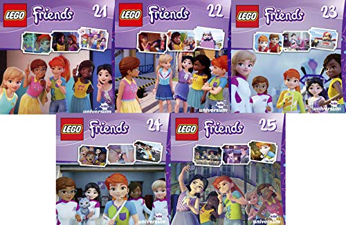 Lego Friends CD 21-25 im Set - Deutsche Originalware [5 CDs]