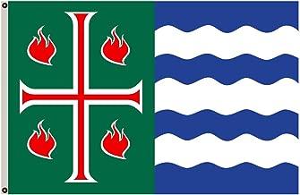 Fyon Mayagüez, Puerto Rico Flag Banner FF19022012 (12x18inch)