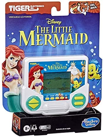 Hasbro Gaming Tiger Electronics Disney s The Little Mermaid Electronic LCD Video Game Retro product image