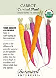 Botanical Interests, Seed Carrot Carnival Blend Organic, 1 Count