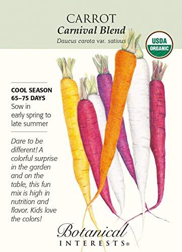 Karnevalsmischung Karottensamen, 1 g